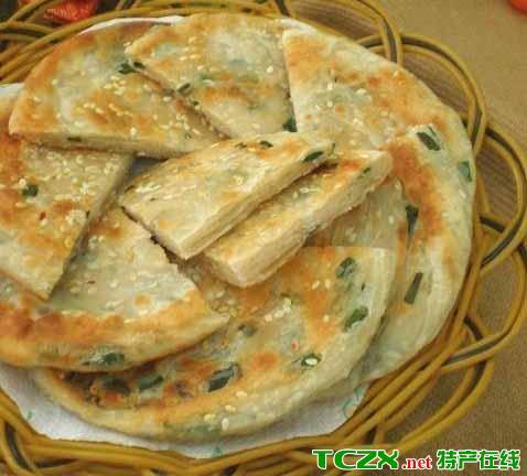 葱花脂油饼