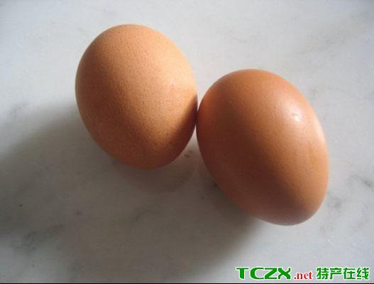黑山褐壳鸡蛋
