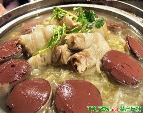 酸菜炖白肉血肠