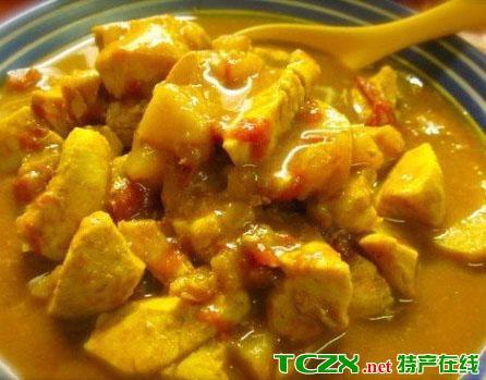 苹果咖喱鸡