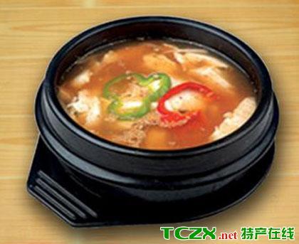 大酱素菜汤