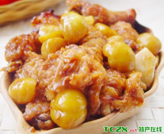 栗子黄焖鸡