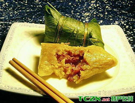 青香糯米粽