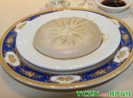 泰康蟹黄汤包