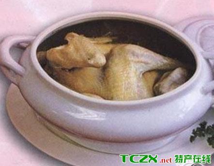 蛤蚧当归炖草鸡