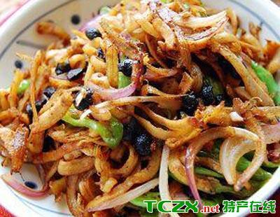银鱼虾仁烩什锦