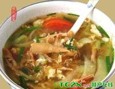 嵊州笋菜汤