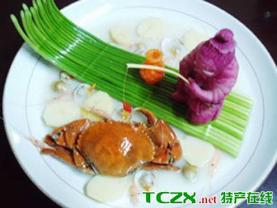 青蟹烧洋芋