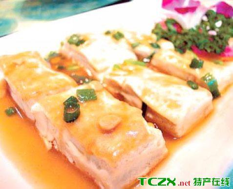 八公山豆腐排