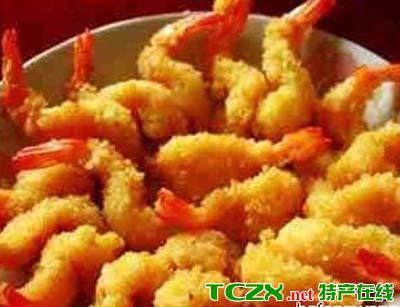香炸琵琶虾