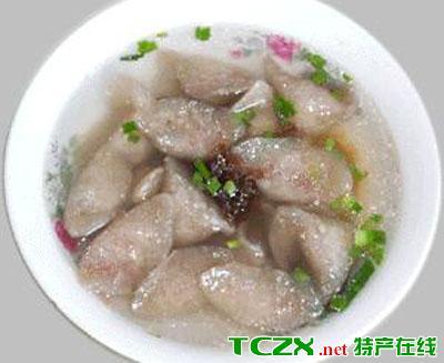 长汀芋子饺