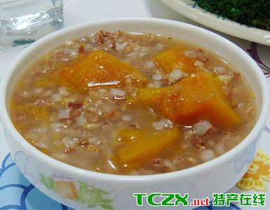 红米南瓜粥