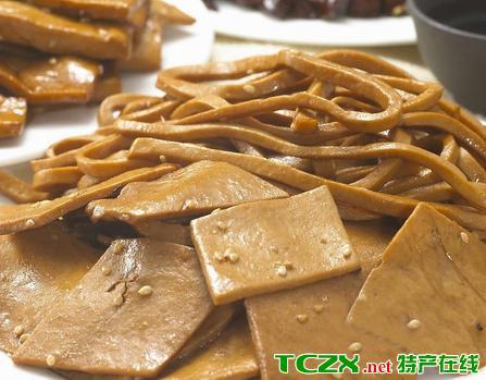 通城豆腐干