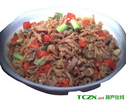 红椒炒羊肉
