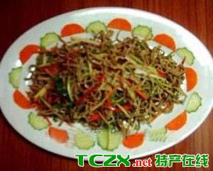 墨鱼豆腐丝