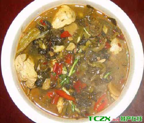 苗家酸菜豆腐汤
