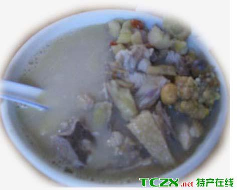山姜头鸡汤