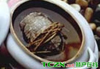 虫草水鸭炖草龟