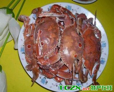 陵水三点蟹