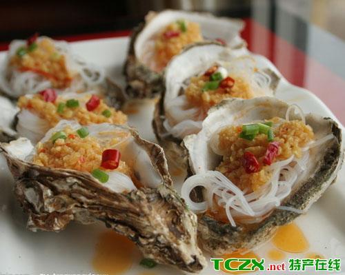 海南碳烤生蚝