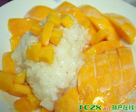 椰汁芒果糯米饭
