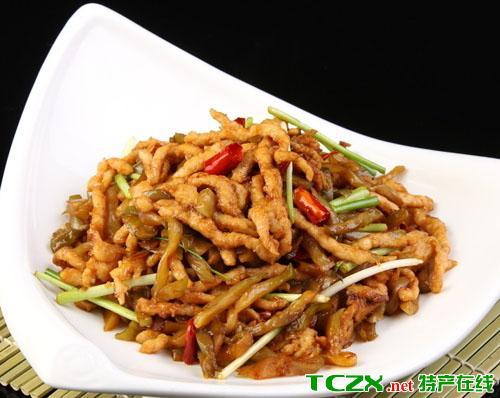 黔江榨菜肉丝