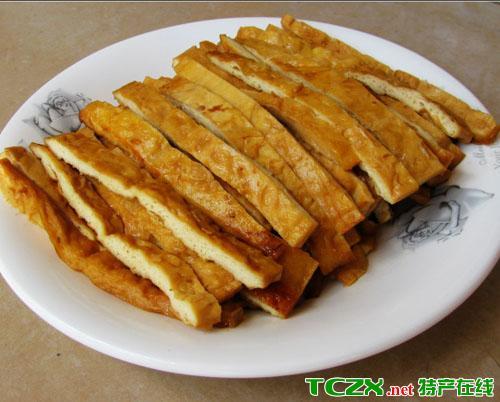 芦山卤豆腐