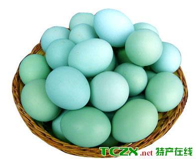 芦山绿壳鸡蛋