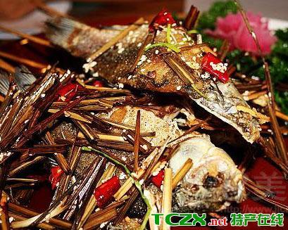 苗岭特色烤鱼