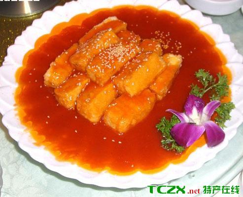 龙华脆皮豆腐