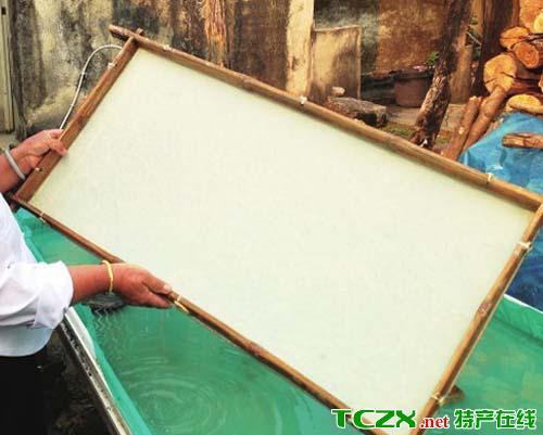傣族手工造纸