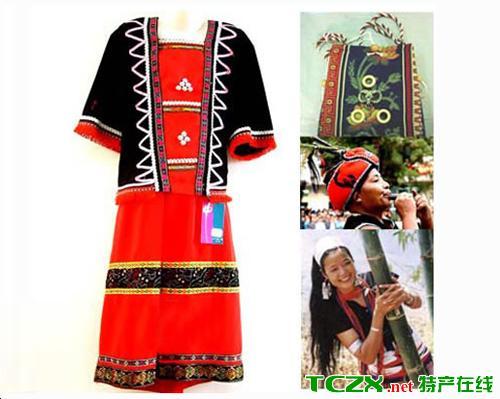 佤族阿曼服饰