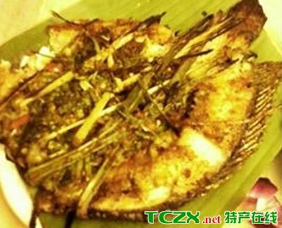 澜沧拉祜族火灰焖鱼