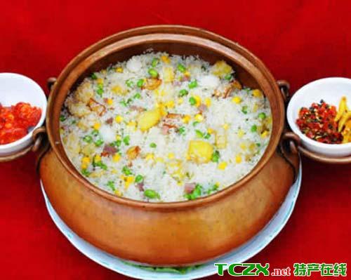 澄江铜锅饭