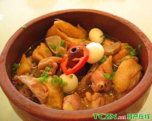 丽江汽锅鸡