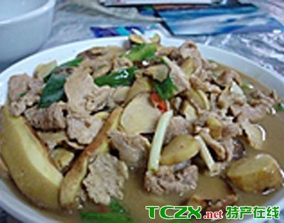 申扎蘑菇炖羊肉