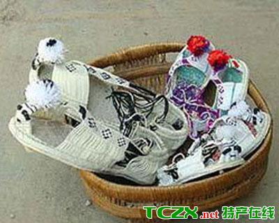 甘谷工艺麻鞋
