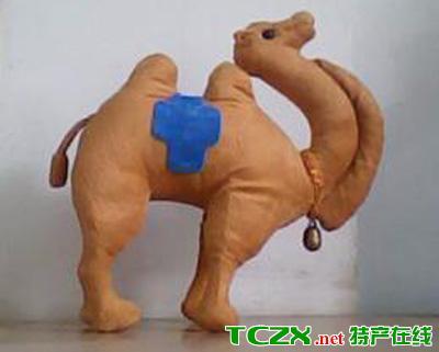 布艺大漠灵驼