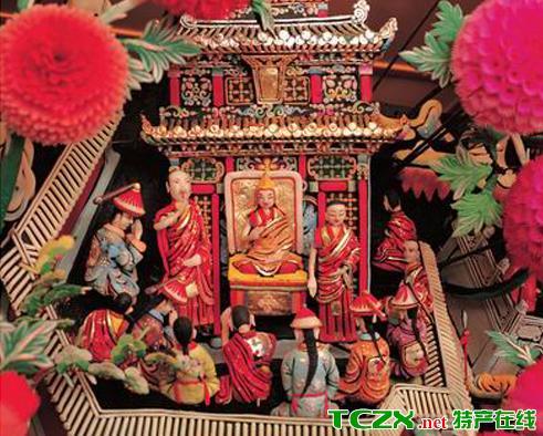 塔尔寺堆绣