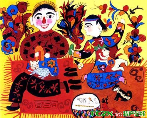 湟中民间绘画