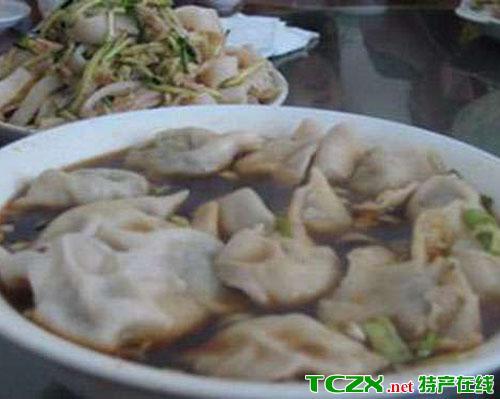 石嘴山羊肉粉汤水饺