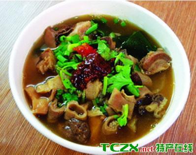 宁夏牛杂汤