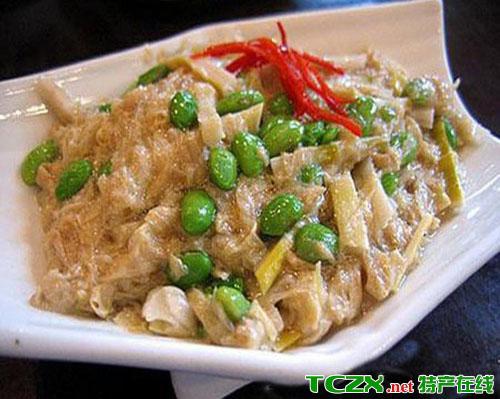 中卫素菜豆腐