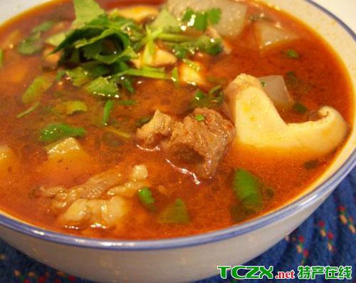 宁夏羊肉粉汤
