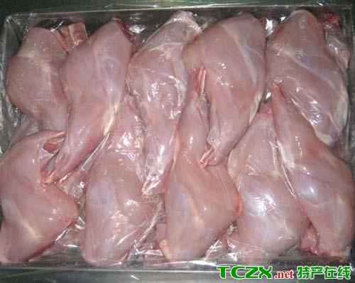沙坡头冻兔肉