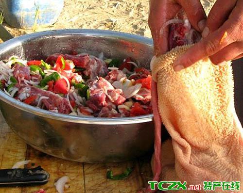 和田羊肚子烤肉