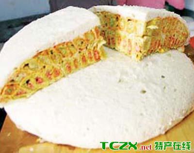巴里坤蒸饼
