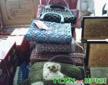 沙雅编织包