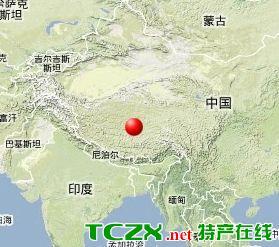 西藏自治区尼玛县发生3.3级地震 震源深度8千米