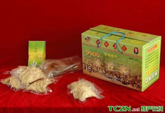 石阡绿豆粉